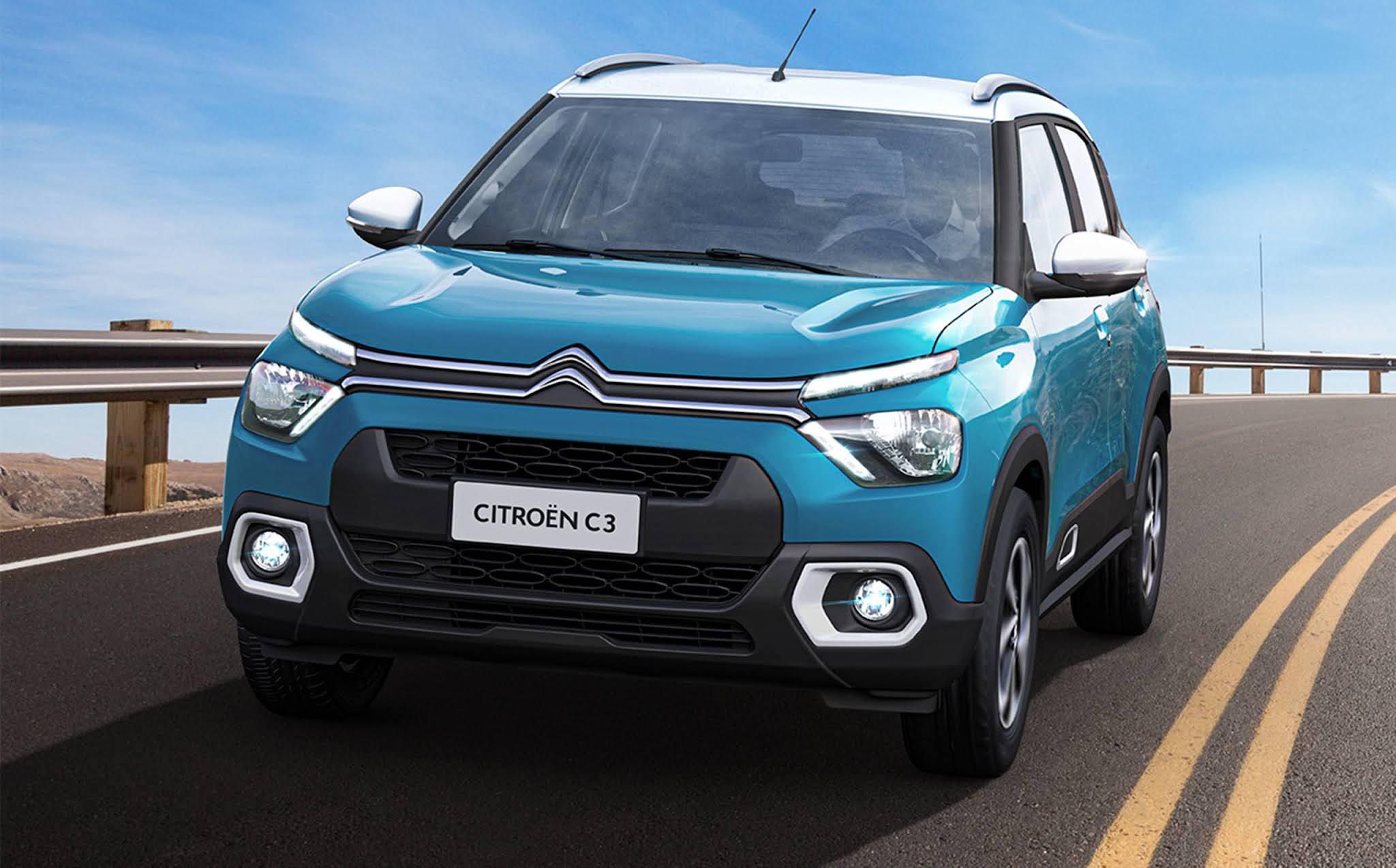 Novo Citroën C3 2022: primeira imagem oficial revelada - Brasil